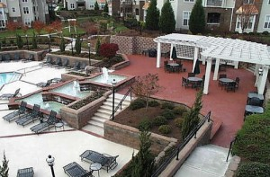 Brookstone Apartments patio